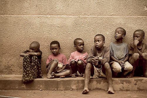 Kids of Africa by caguras