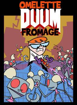 Dexter's Laboratory meets DOOM