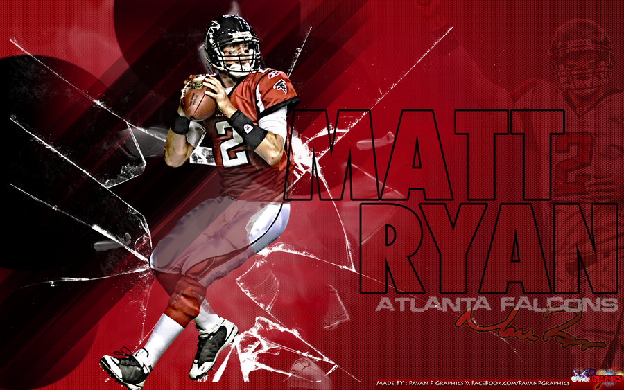Atlanta Falcon Wallpapers Group 60: Matt Ryan By PavanPGraphics On DeviantArt