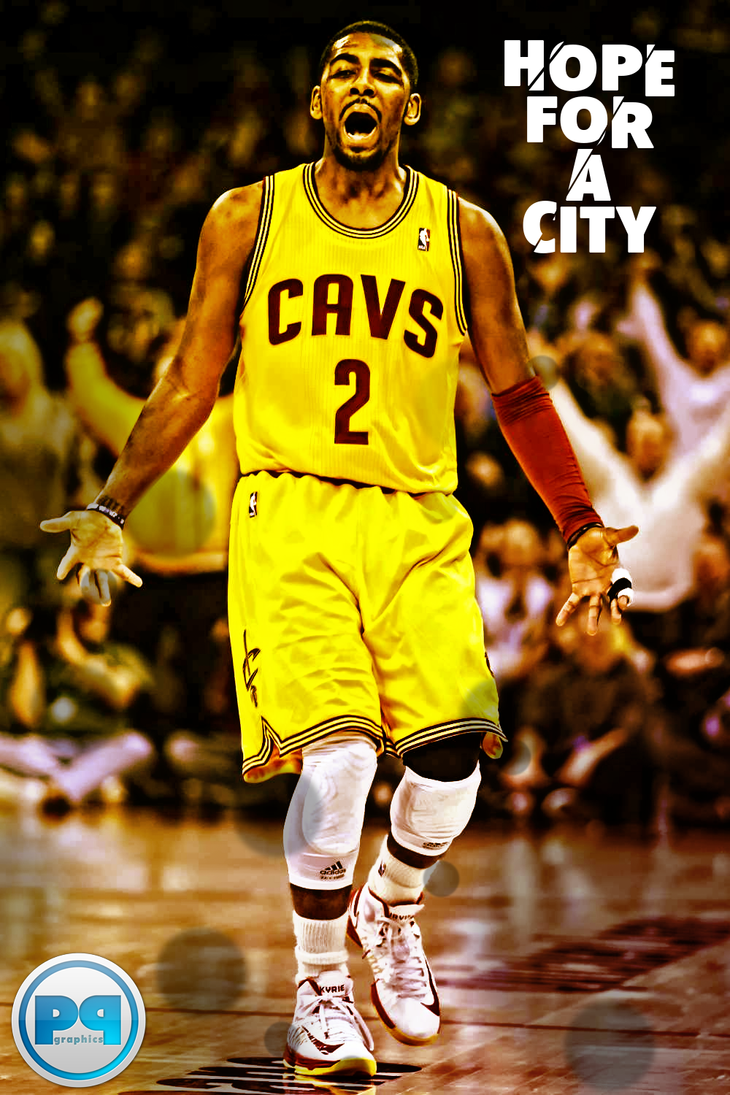 Kyrie Irving Hope For A City IPhone Wallpaper By PavanPGraphics