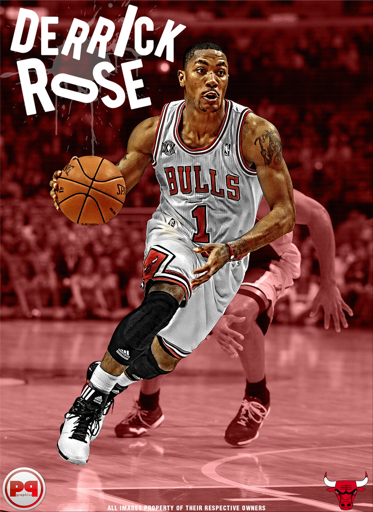 Derrick Rose By PavanPGraphics