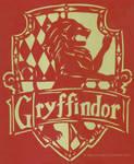 Gryffindor Crest Papercutting