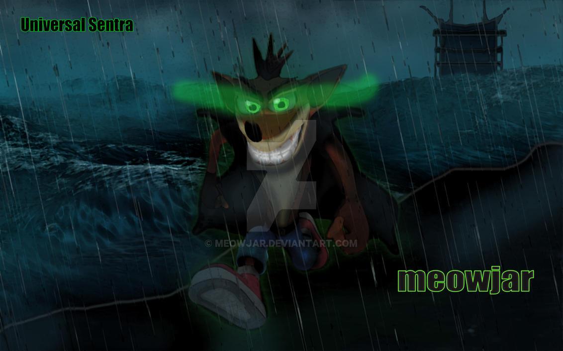 Dark Crash Bandicoot Wallpaper by meowjar ...