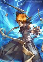 BLEACH - Ichigo's bankai by yanimator