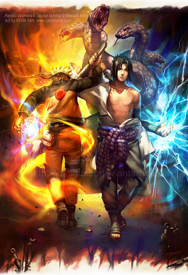 NARUTO - Eternal Rivalry