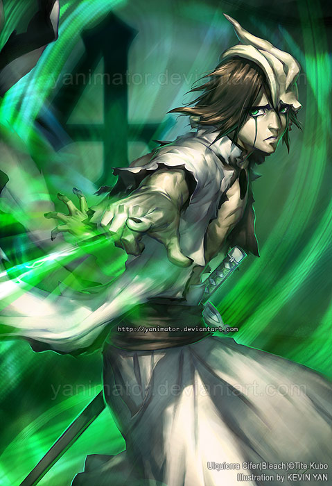 BLEACH - Ulquiorra Shiffer by yanimator