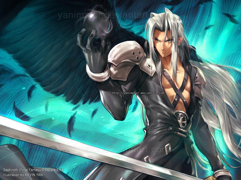 FINAL FANTASY - Sephiroth by yanimator