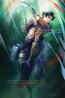 Attack on Titan Levi by yanimator