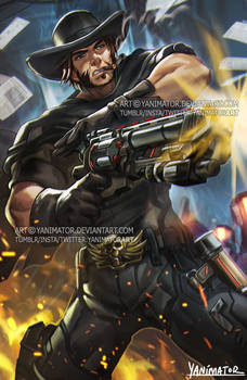 Overwatch Blackwatch McCree! What time is it?
