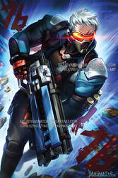 Overwatch Soldier76 IVE GOT YOU IN MY SIGHTS!