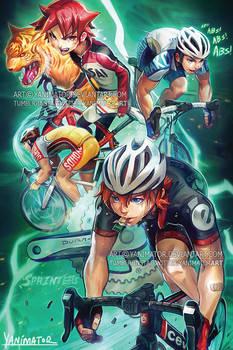 Yowamushi PEDAL Sprinters