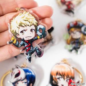 Persona 5 Ryuji Skull Acrylic Keychain on my Store