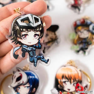 Persona 5 Makoto Acrylic Keychain