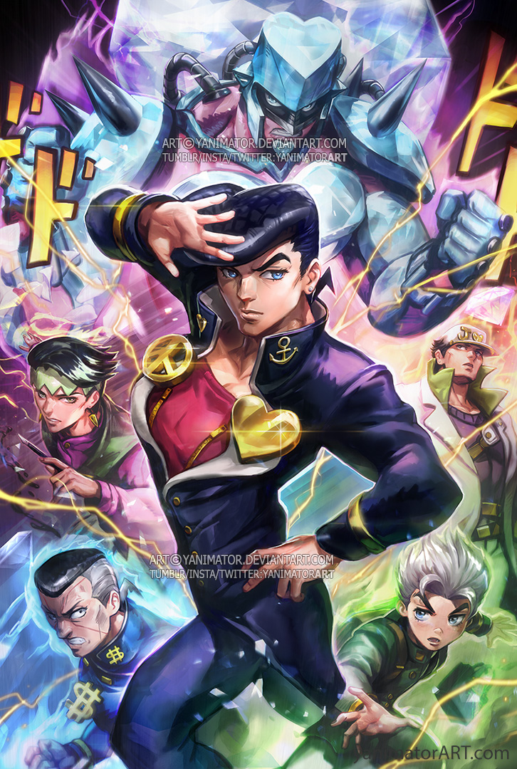 JJBA PART 4 by yanimator