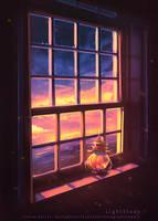 Light Study by SinsValentine