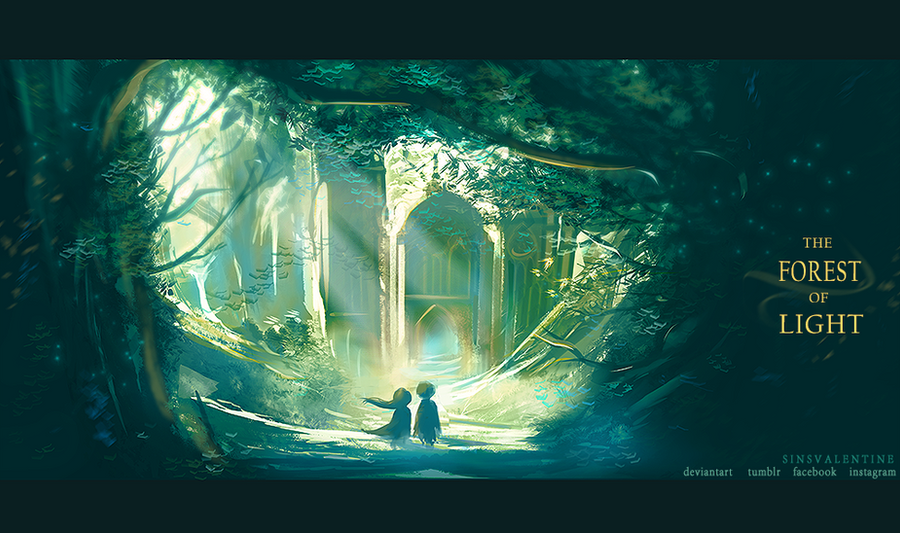 The Forest of Light by SinsValentine