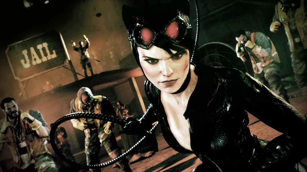 Batman Arkham Knight Catwoman DLC Wallpaper By Corbantis17