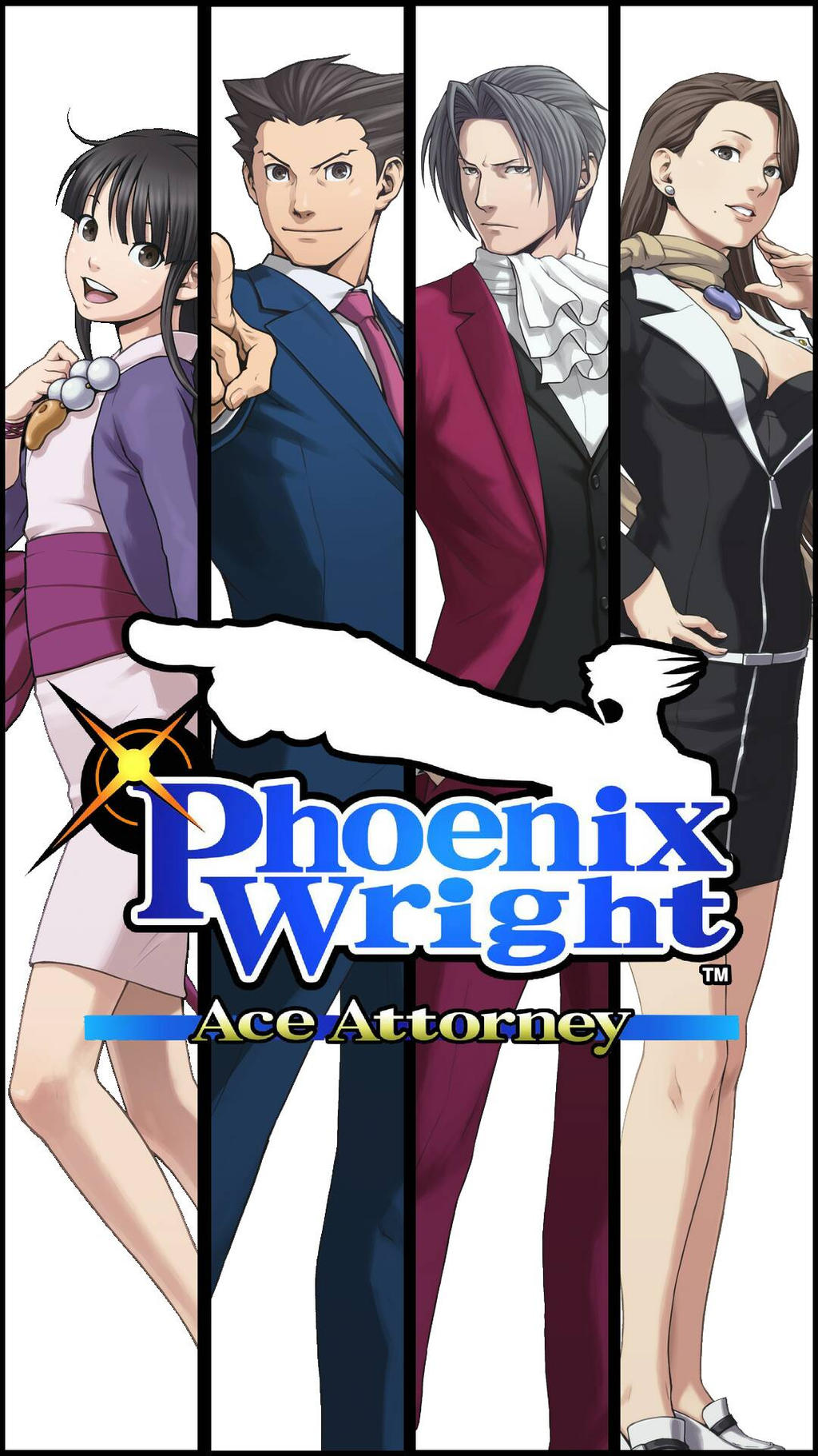 Phoenix Wright Ace Attorney Wallpaper By Gmivan On Deviantart
