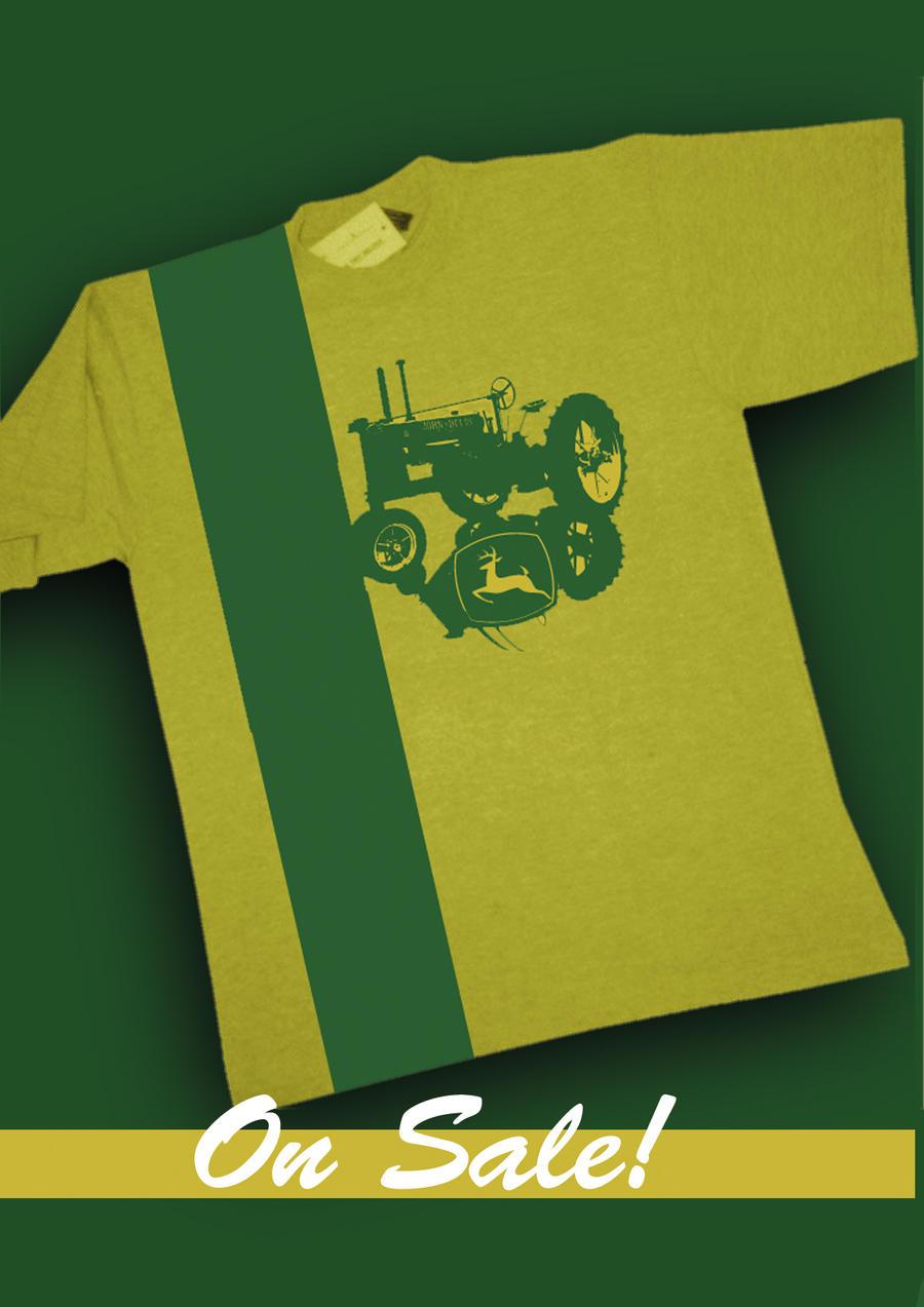 John Deere T Shirt By Alexbanfi On Deviantart