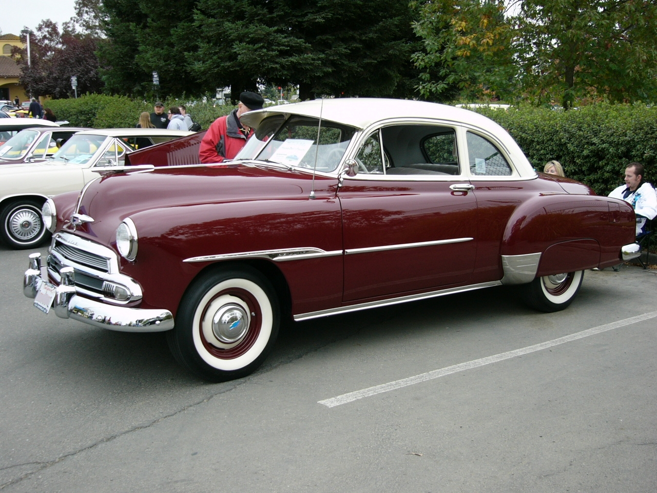 What Does This Mysterious Activity In Front Of A Friends House Mean 1951 Chevrolet Police Car The Look