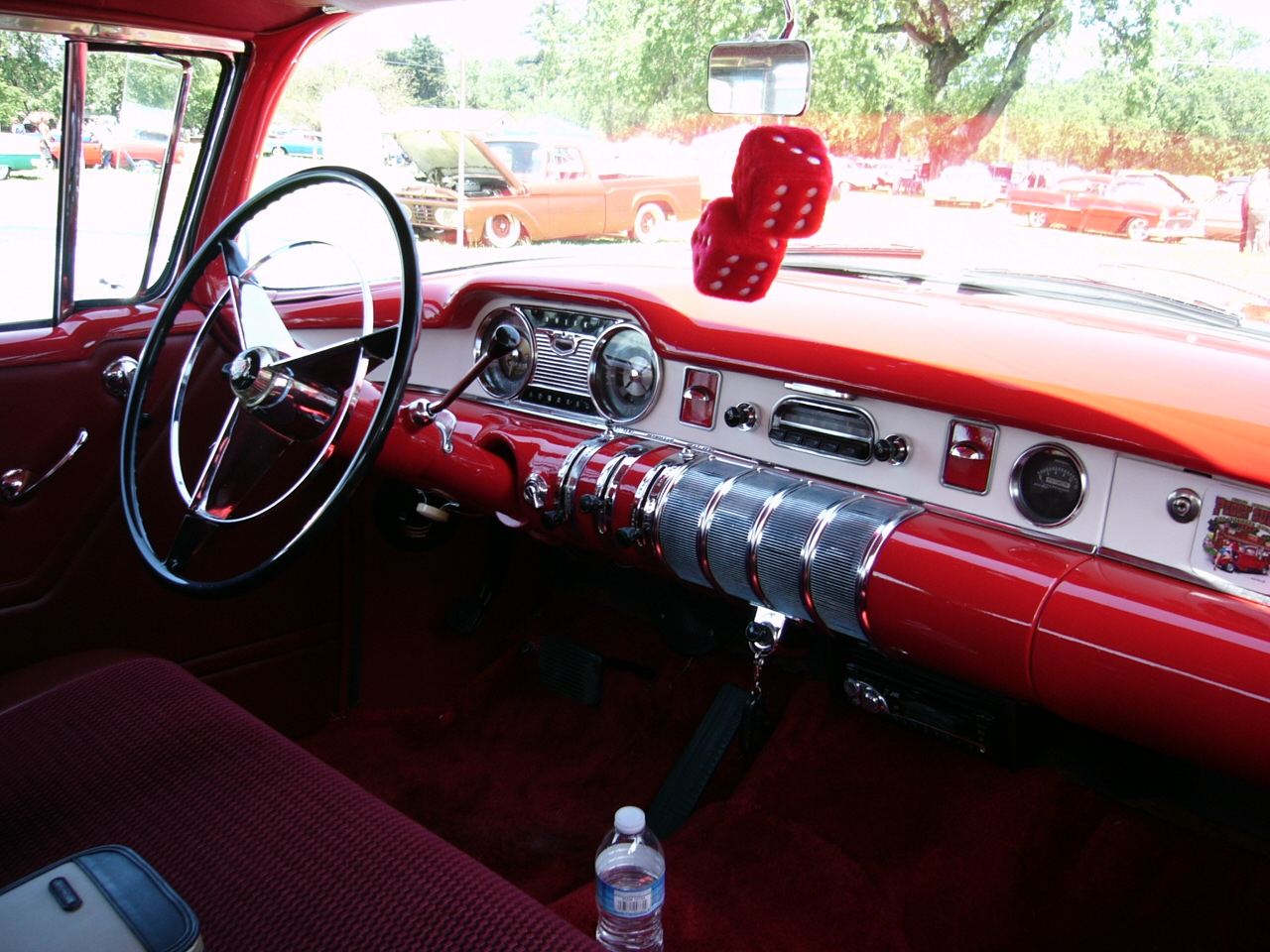 1955 Buick Special dashboard