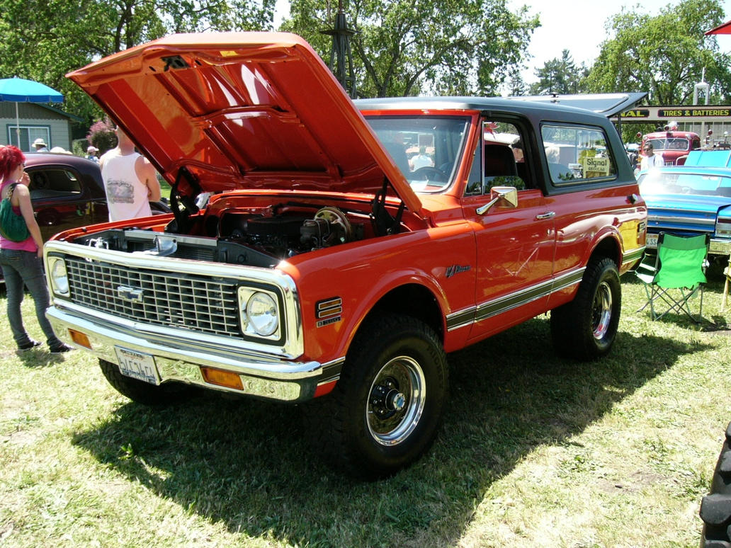 Classic Chevrolet K5 Blazer by haafasst on deviantART