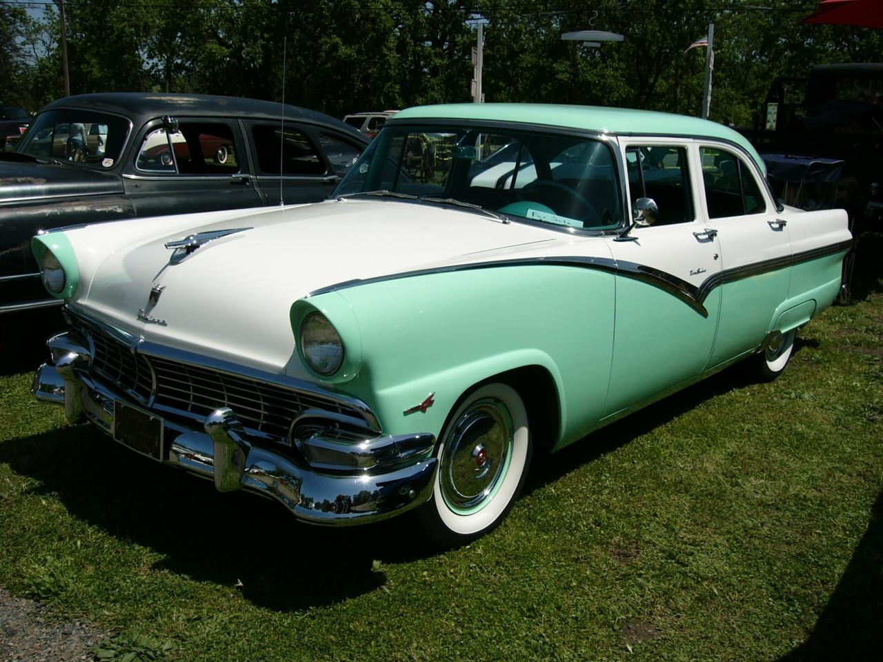 1956 ford fairlane 4 dr sedan by roadtripdog on deviantart for 1956 ford fairlane 4 door
