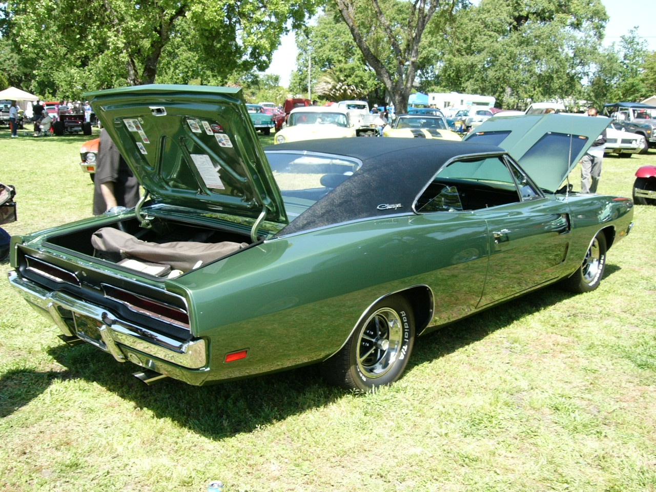 1969 Dodge Charger right side