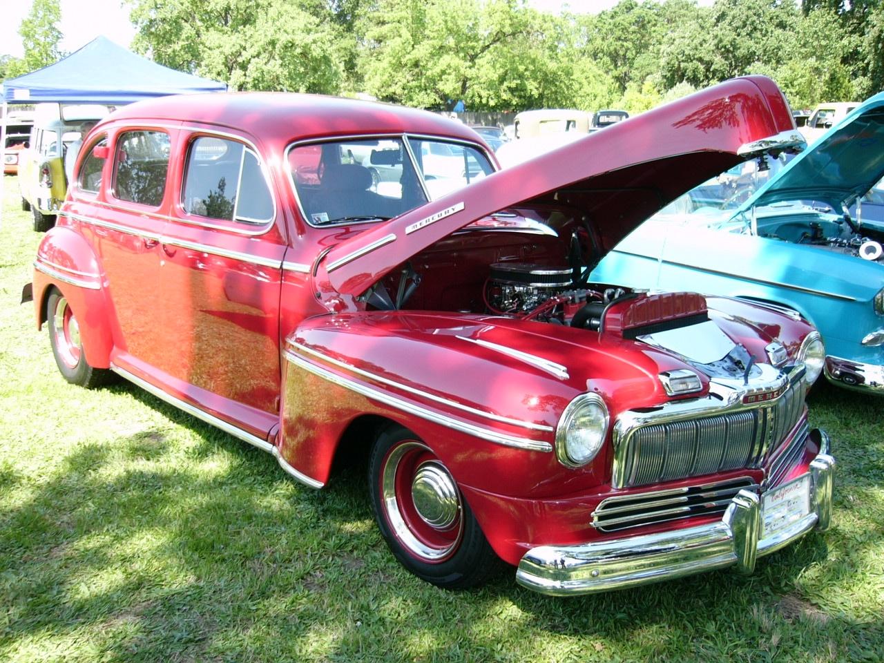 Red Mercury Town Sedan by RoadTripDog