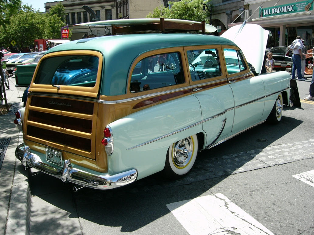 1953 Chevrolet station wagon by RoadTripDog on DeviantArt