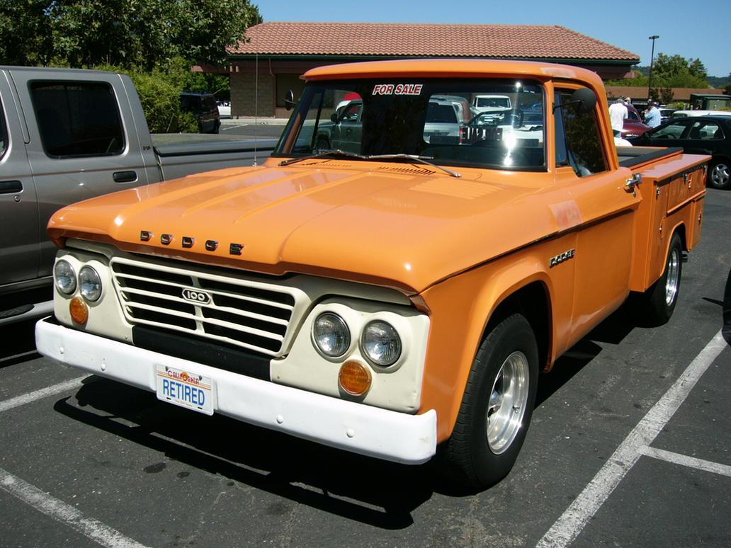 1962 dodge 100 work truck 3 by roadtripdog on deviantart. Black Bedroom Furniture Sets. Home Design Ideas