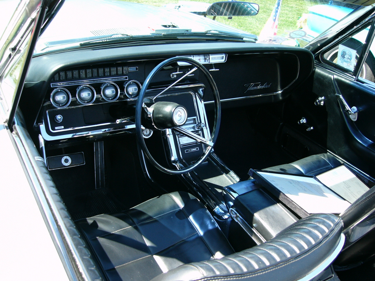 1966 T Bird Interior By Roadtripdog On Deviantart
