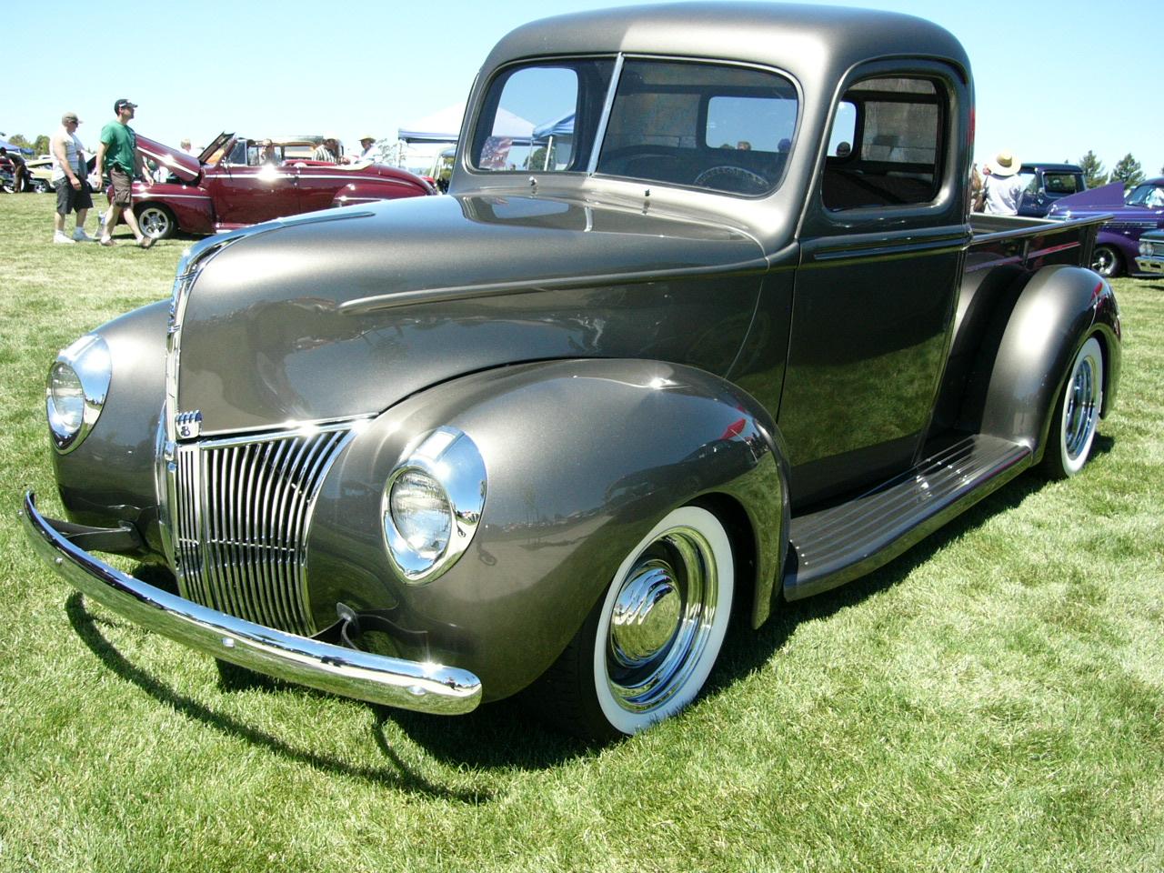 devanshu 39 s blog 1940 ford v8 pickup in gray by. Black Bedroom Furniture Sets. Home Design Ideas