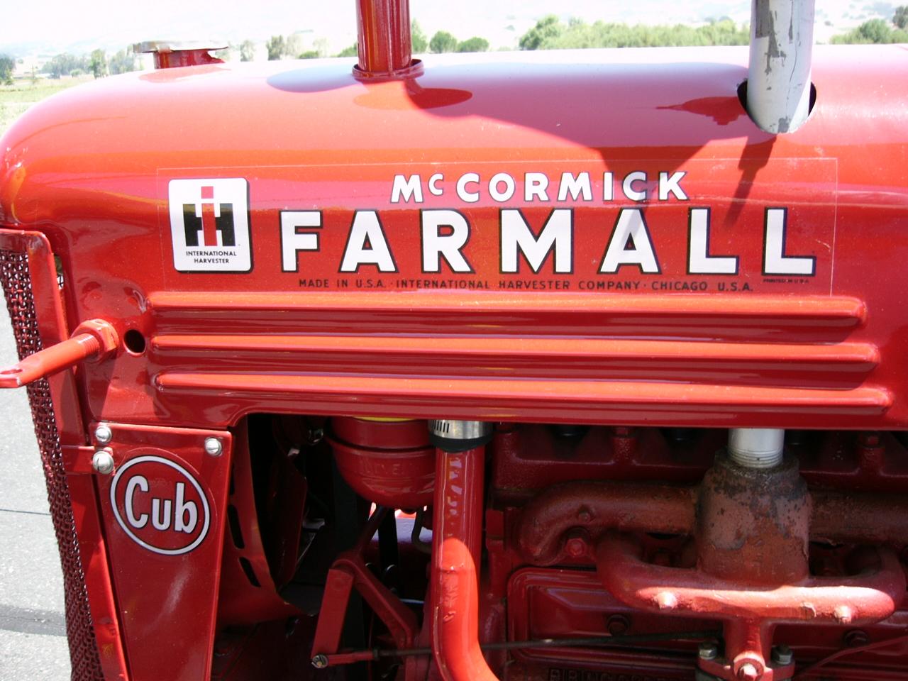 McCormick Farmall Cub tractor by RoadTripDog on DeviantArt