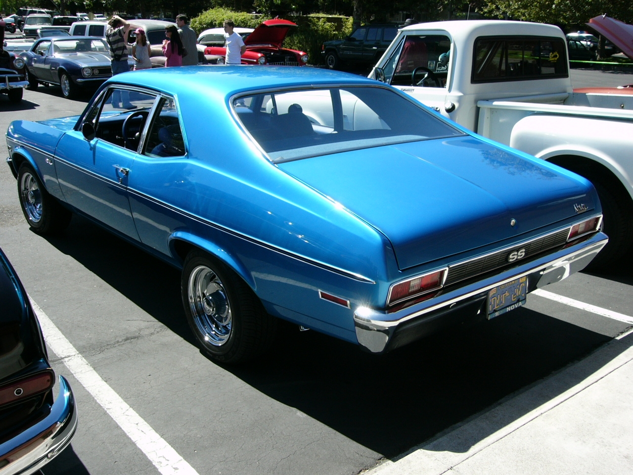 All Chevy 1971 chevrolet nova : 1971 Chevrolet Nova SS blue by RoadTripDog on DeviantArt