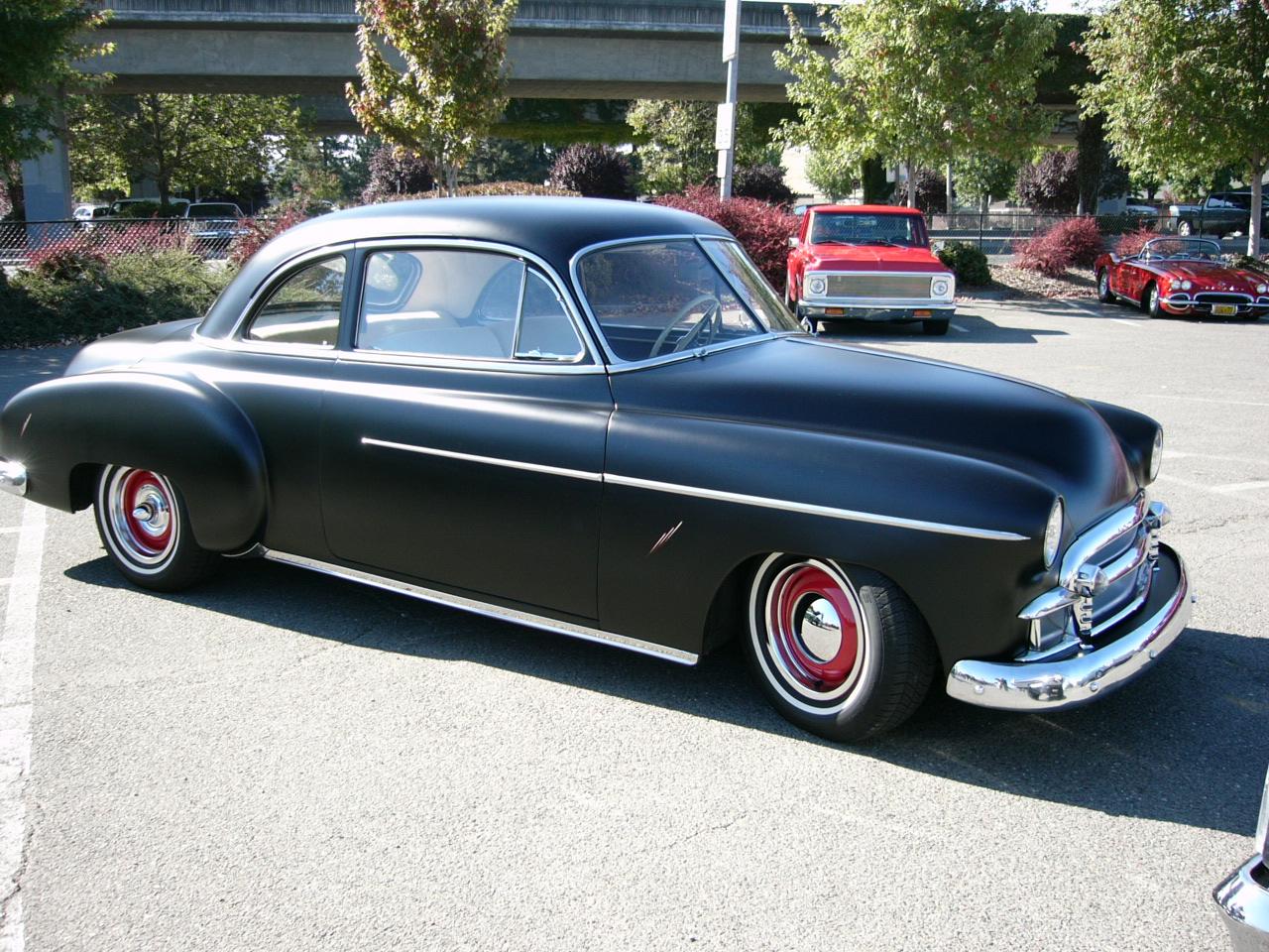 1950 chevrolet 2 door sedan by roadtripdog on deviantart for 1950 ford sedan 2 door