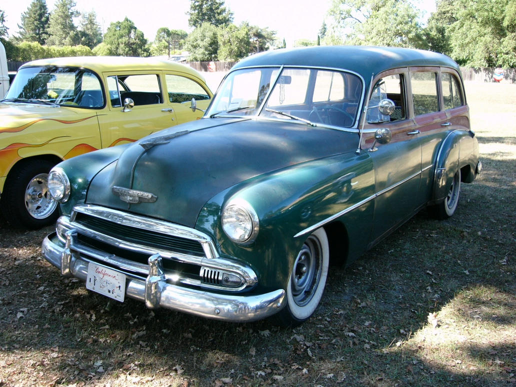 All Chevy 1951 chevy styleline deluxe : 1951 Chevrolet Styleline DeLuxe Station Wagon by RoadTripDog on ...