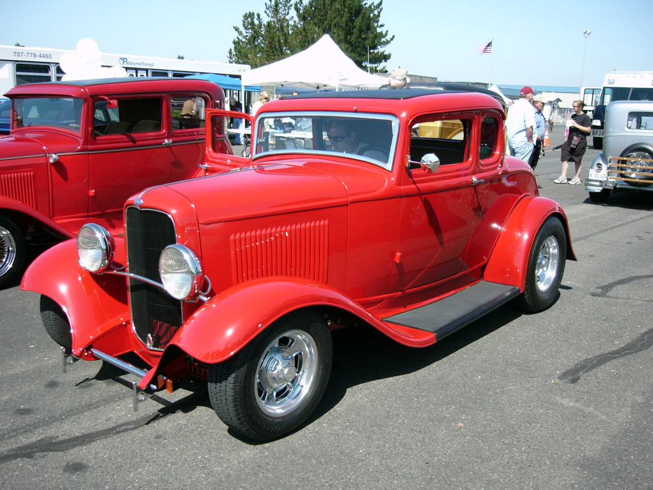 1932 ford red five window coupe by roadtripdog on deviantart for 1932 ford 5 window coupe