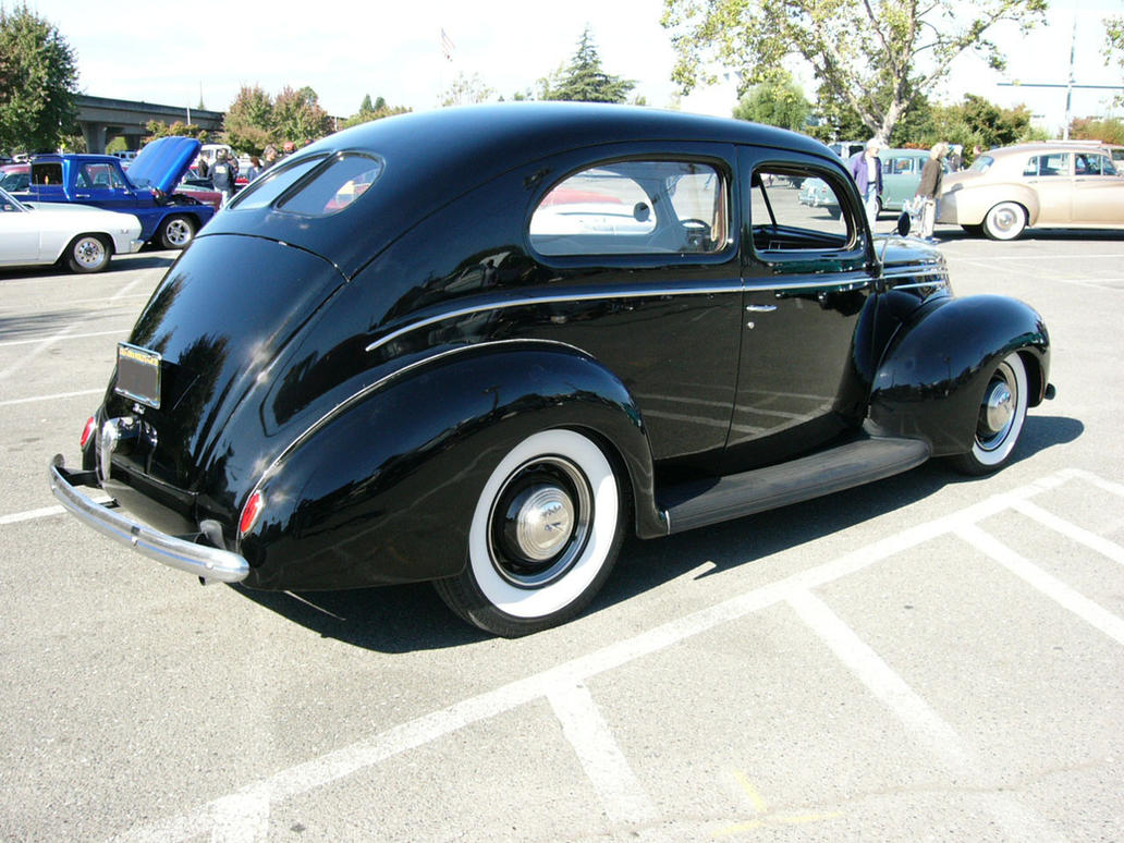 1939 ford deluxe two door sedan by roadtripdog on deviantart