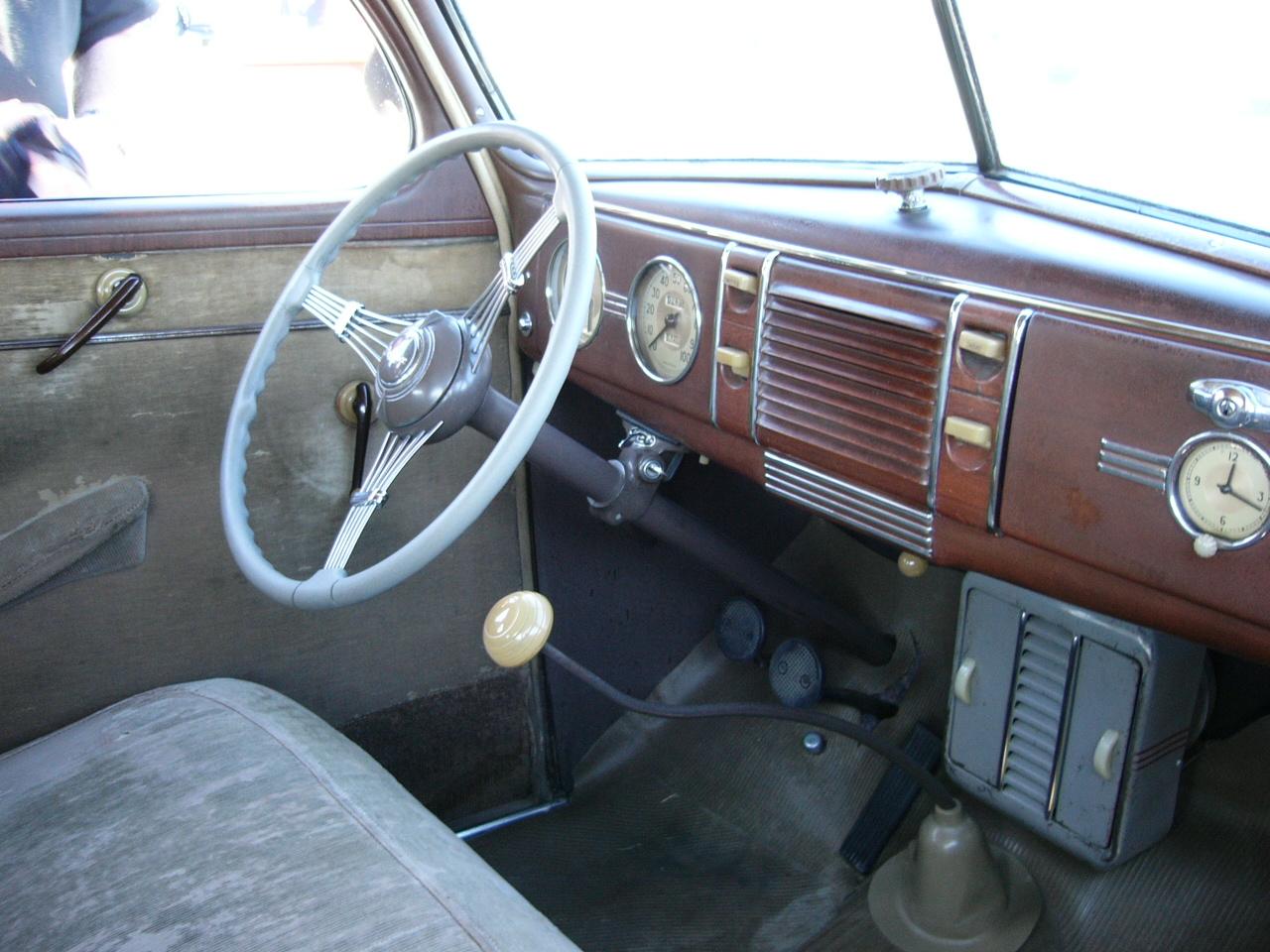 1939 ford deluxe sedan interior by roadtripdog on deviantart