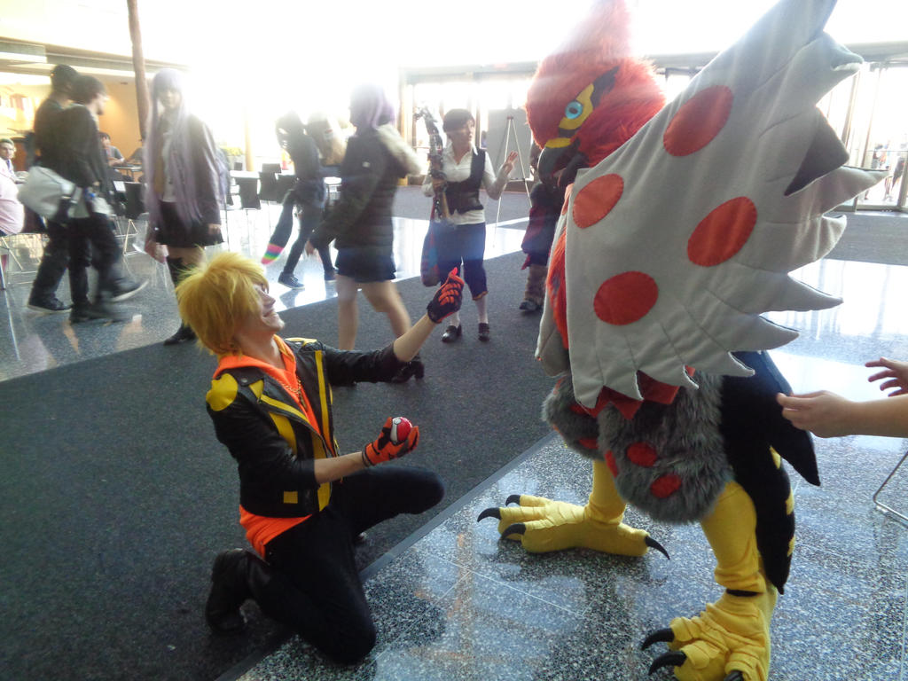 Youmacon 2016 swedish fish proposal by for Swedish fish costume