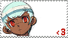 Sera Fan Stamp by Rhythm-Wily