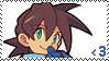 Megaman Voulnutt Fan Stamp by Rhythm-Wily