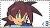 Megaman Voulnutt Fan Stamp by Rhythm-Wily