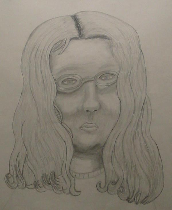 Self Portrait in Pencil by Rhythm-Wily