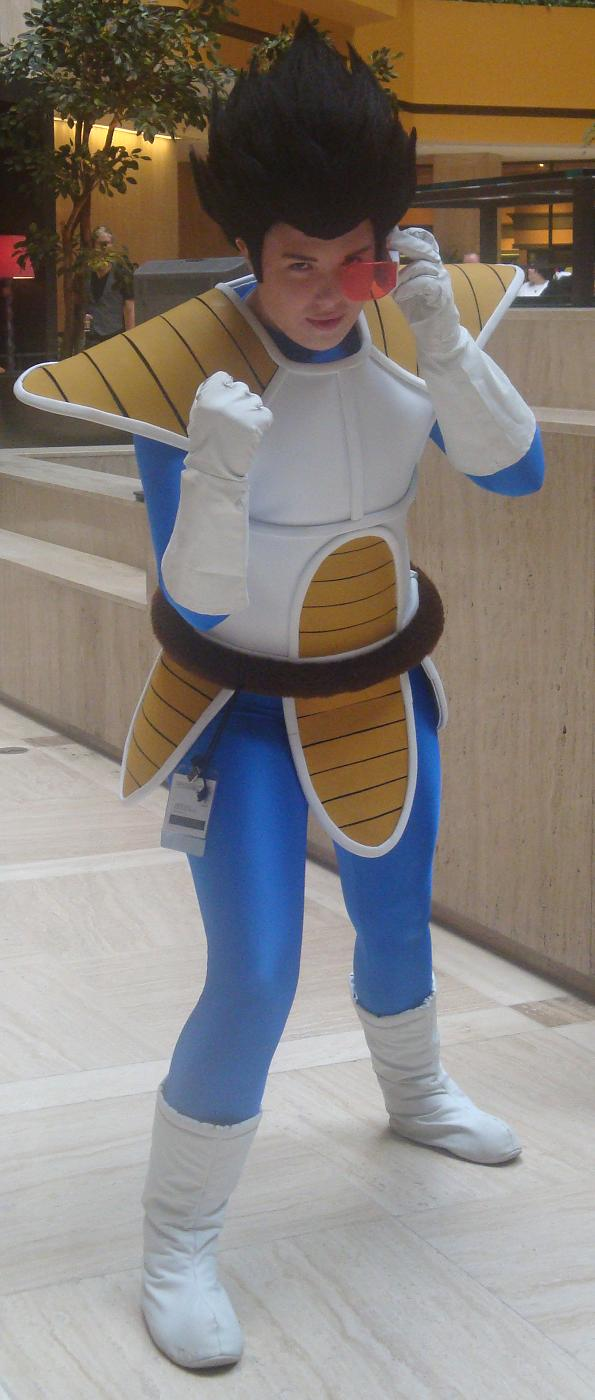 Cosplay Check: Vegeta by Rhythm-Wily