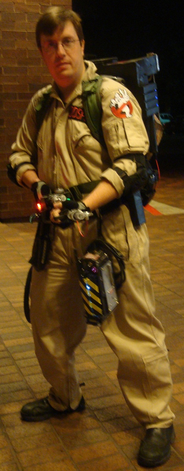 Cosplay Check: Ghost Buster by Rhythm-Wily