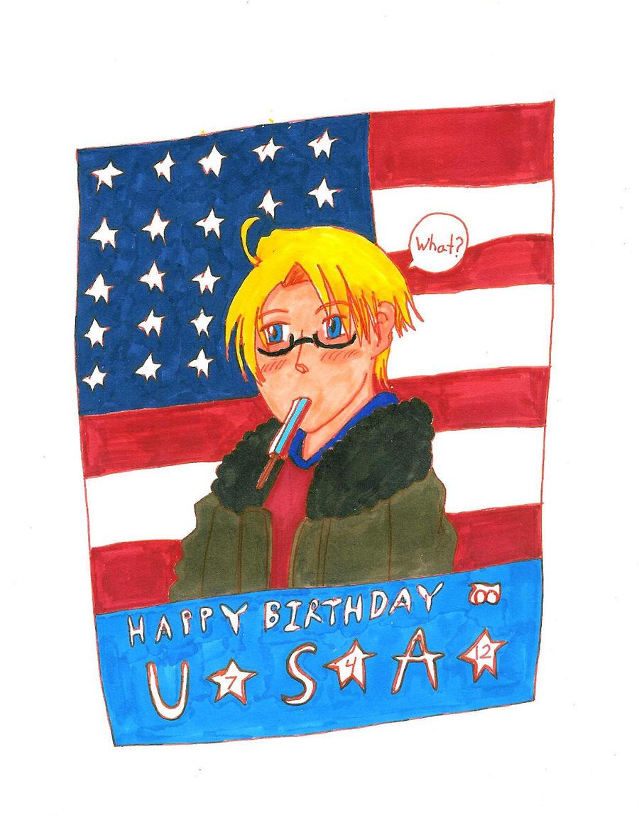 Happy Birthday America! by Rhythm-Wily