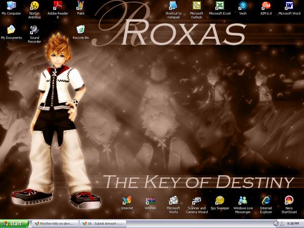 Roxas: The Key of Destiny by Rhythm-Wily