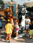 Tom and Jerry at Disneyland?